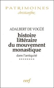Histoire littéraire du mouvement monastique dans lantiquité - Tome 8, De la vie des Pères du Jura aux oeuvres de Césaire dArles (500-542).pdf