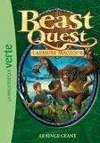Adam Blade - Beast Quest - L'armure magique Tome 10 : Le singe géant.