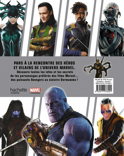 Marvel Studios. Encyclopédie des personnages