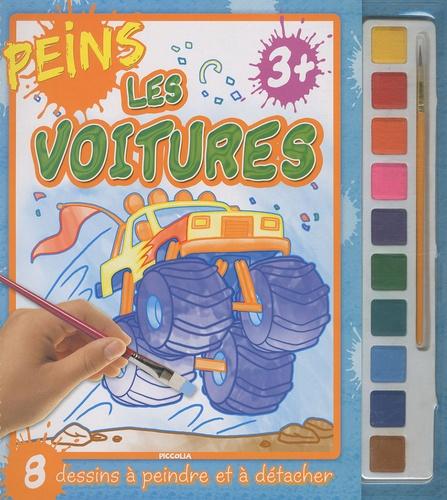 Adam Devaney - Peins les voitures - 8 dessins à peindre et à détacher.