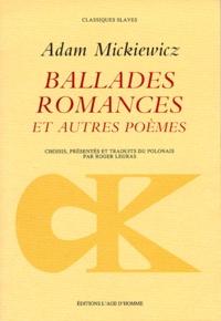 Galabria.be Ballades, romances - Et autres poèmes Image