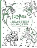 Adam Raiti et Scott Buoncristiano - Créatures magiques Harry Potter - Livre de coloriage.