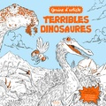 Adam Stower et Stephanie Clarkson - Terribles dinosaures.