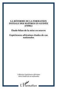 Adéa - La réforme de la formation initiale des maîtres en Guinée (FIMG).