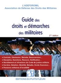 Le nouveau guide des droits et démarches des militaires -  ADEFDROMIL |