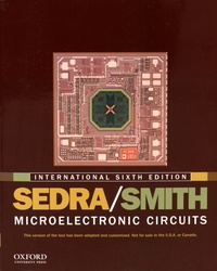 Adel-S Sedra et Kenneth-C Smith - Microelectronic Circuits. 1 Cédérom