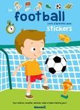 Adèle Constant - Le football - Livre d'activités avec stickers.