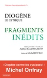 Adeline Baldacchino - Diogène le cynique - Fragments inédits.