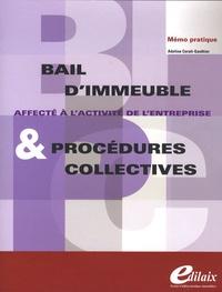Deedr.fr Bail d'immeuble et procédures collectives - Affecté à l'activité de l'entreprise Image