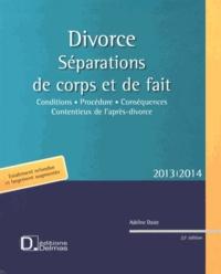Adeline Daste - Divorce - Séparations de corps et de fait.
