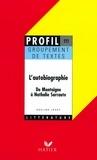 Adeline Lesot - Profil - L'autobiographie.