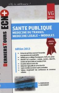 Santé publique - Médecine du travail - Médecine légale (module 1).pdf