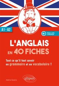 Goodtastepolice.fr L'anglais en 40 fiches A1-A2 - Tout ce qu'il faut savoir en grammaire et en vocabulaire! Image