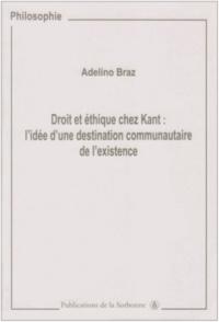 Era-circus.be Droit et éthique chez Kant - L'idée d'une destination communautaire de l'existence Image