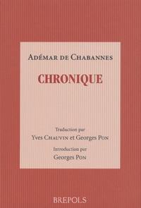 Adémar de Chabannes - Chronique.