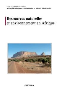Adeniyi Gbadegesin et Michel Boko - Ressources naturelles et environnement en Afrique.