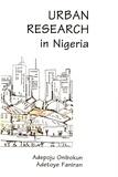 Adepoju Onibokun et Adetoye Faniran - Urban Research in Nigeria.