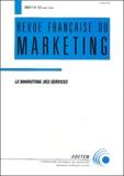 Collectif - Revue française du marketing N° 121 Janvier-Févri : Le marketing des services.