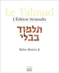 Deedr.fr Le Talmud - Tome 16, Baba Metsi'a 4 Image