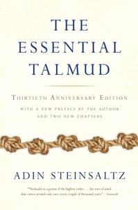 Adin Steinsaltz - The Essential Talmud.