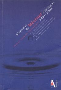 Admical - Répertoire du mécénat d'entreprise 2001-2002.