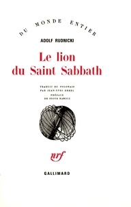Adolf Rudnicki - Le Lion de Saint Sabbath.
