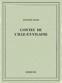 Adolphe Orain - Contes de l'Ille-et-Vilaine.