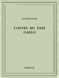 Adolphe Orain - Contes du Pays Gallo.