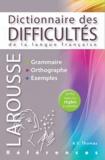 Adolphe Thomas et Michel de Toro - Dictionnaire des difficultés de la langue française.