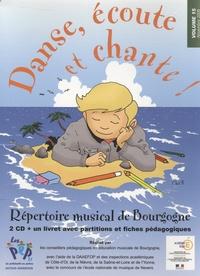 ADPEP 21 - Danse, écoute et chante ! - Répertoire musical de Bourgogne volume 15. 2 CD audio
