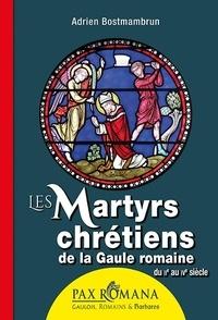 Adrien Bostmambrun - Les martyrs chrétiens de la Gaule romaine - Du IIe au IVe siècle.