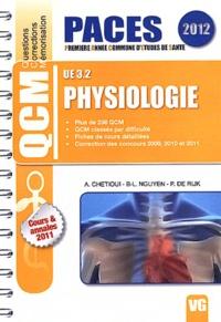 Adrien Chetioui et Bao-Long Nguyen - Physiologie UE 3.2.