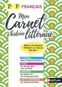 Adrien David - Mon carnet d'histoire littéraire 2de-1re.