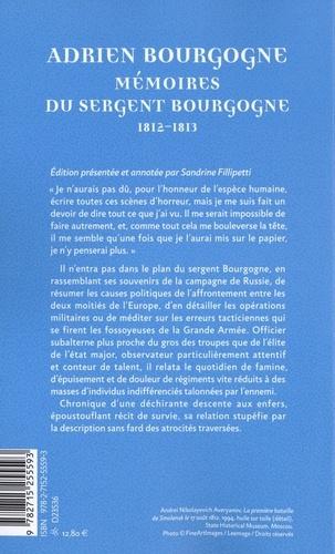 Mémoires du sergent Bourgogne. (1812-1813)