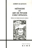 Adrien Klajnman - Méthode et art de penser chez Spinoza.