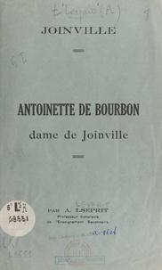 Adrien Lesprit - Antoinette de Bourbon, dame de Joinville.