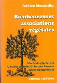 Adrien Morandin - Bienheureuses associations végétales - Macérats glycerinés, Graines germées & Jeunes pousses, Elixirs spagyriques.