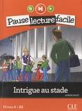 Adrien Payet - Intrigue au stade - Niveau 4 - A2. 1 CD audio