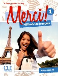 Adrien Payet et Isabelle Rubio - Merci ! 1 A1 - Méthode de français. 1 DVD