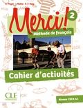 Adrien Payet et Isabelle Rubio - Merci ! 2 - Cahier d'activités.