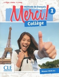Adrien Payet et Isabel Rubio - Merci Collège 1 élève + exercices + DVD CLE.