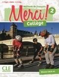 Adrien Payet et Isabelle Rubio - Merci ! Collège 2 - Niveau CECR A1.