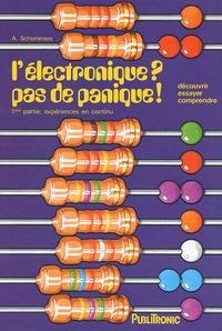 Rhonealpesinfo.fr L'électronique ? pas de panique! 1ère partie : expérimentations en courant continu Image
