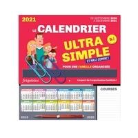 Adrien Siroy - Le calendrier ultra simple et maxi compact pour une famille organisée - Avec 1 criterium.