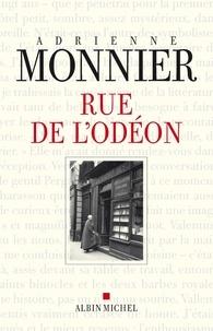 Adrienne Monnier - Rue de l'Odéon.