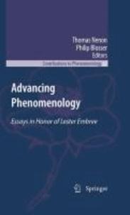 Thomas Nenon - Advancing Phenomenology - Essays in Honor of Lester Embree.