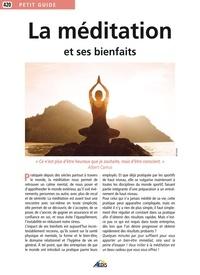 Aedis - La méditation et ses bienfaits.
