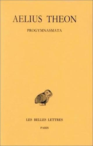 Aélius Théon - Progymnasmata.