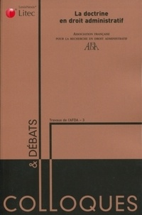 AFDA - La doctrine en droit administratif.