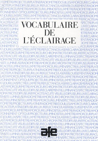 AFE - Vocabulaire de l'éclairage.